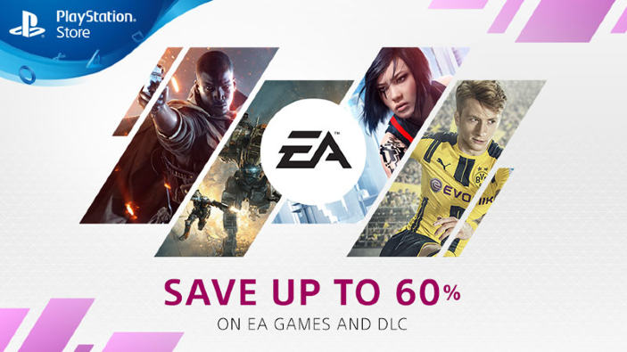 PlayStation Store - Arrivano le offerte a tema Electronic Arts