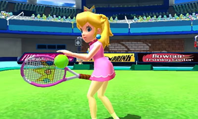 Il tennis di Mario Sports Superstars in video