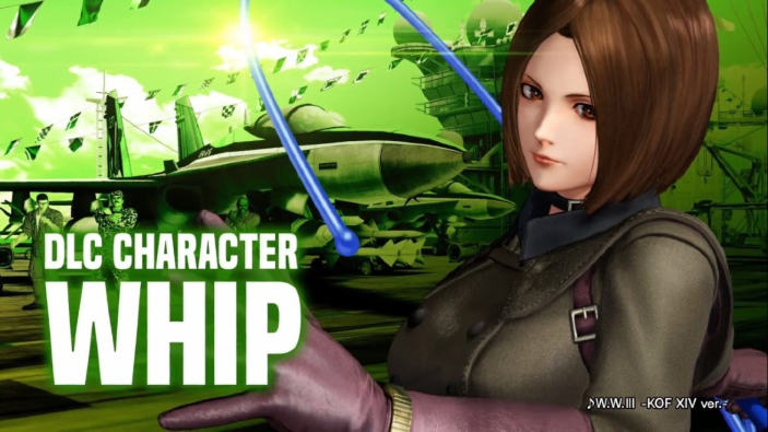 Il primo personaggio DLC di The King of Fighters XIV è Whip