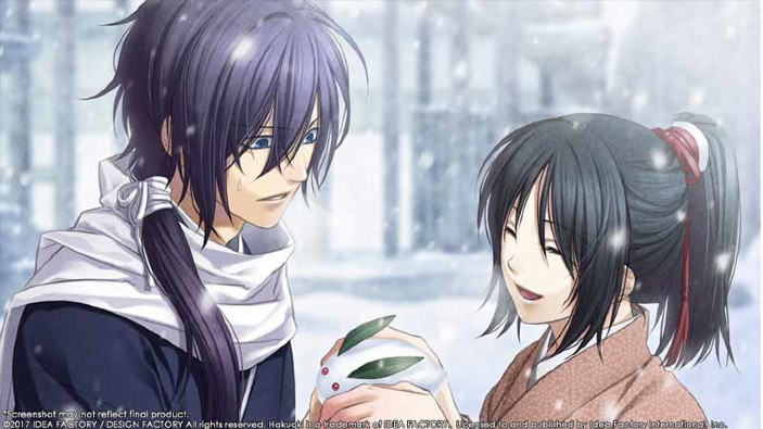 Hakuoki: Kyoto Winds ha una data d'uscita occidentale