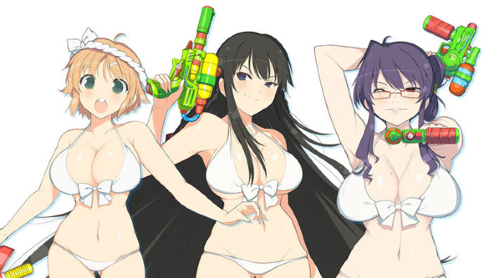 Senran Kagura: Peach Beach Splash in oltre mezz'ora di gameplay