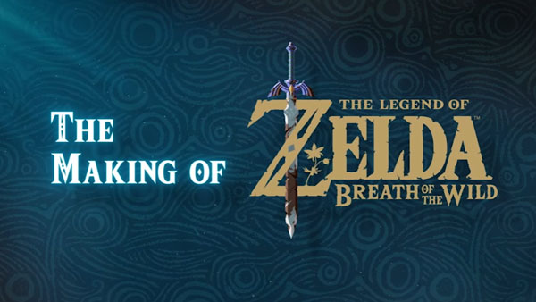 Svelato il making of di Zelda: Breath of the Wild