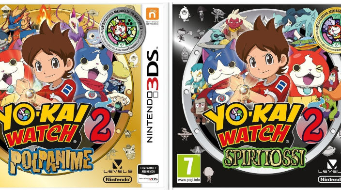 Yo-kai Watch 2 è da oggi disponibile