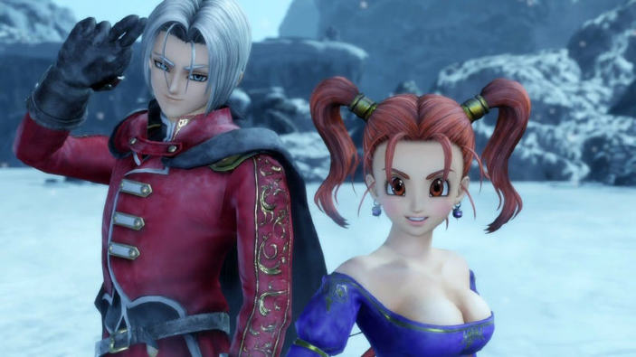 Dragon Quest Heroes II - Arrivano Jessica ed Angelo da Dragon Quest VIII
