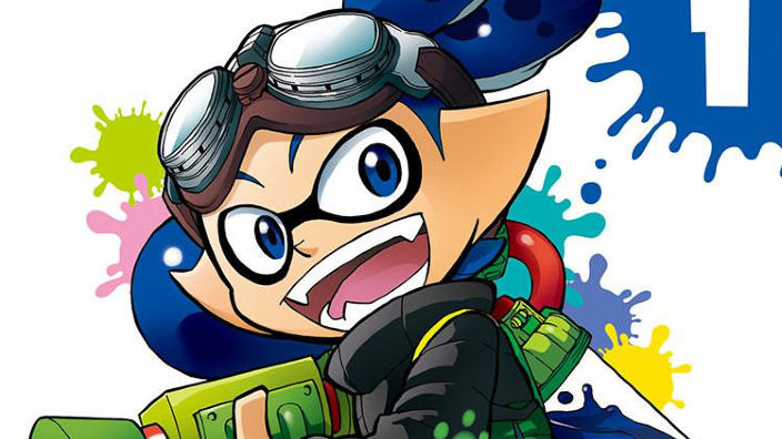 Il manga di Splatoon arriverà in Occidente