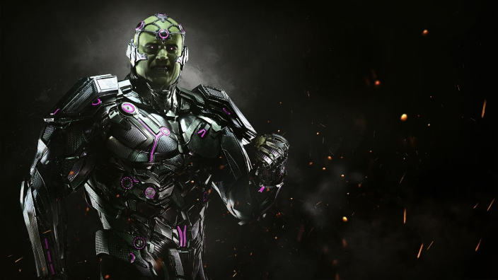 Injustice 2 mostra le abilità di Brainiac con un video