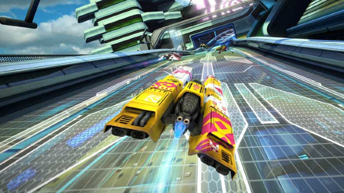 WipEout Omega Collection è ufficialmente in fase gold