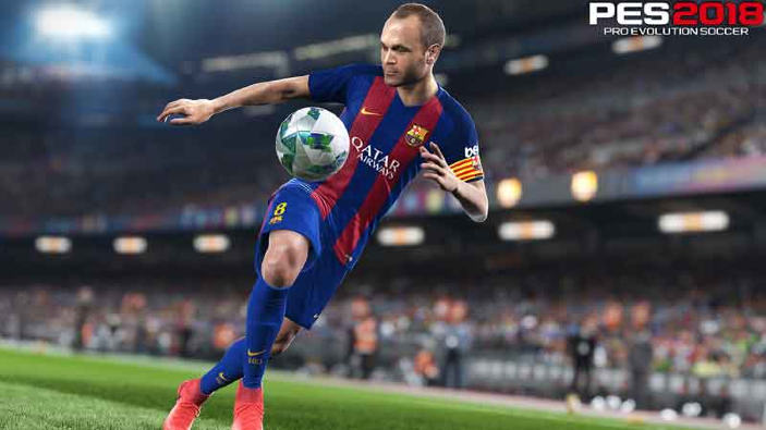 Pro Evolution Soccer 2018, svelata la data d'uscita italiana