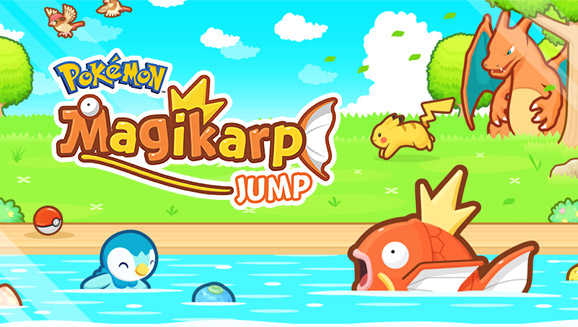 Pokémon: Magikarp Jump è ora disponibile su Android e iOS