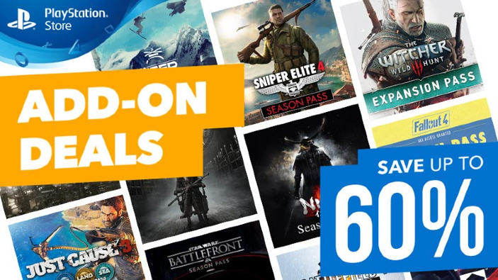 DLC e Season Pass in offerta sul PlayStation Store