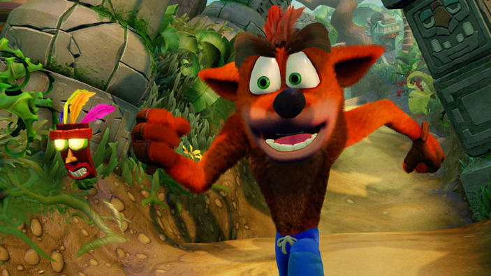 E3 2017 - Trailer di lancio per Crash Bandicoot N.Sane Trilogy