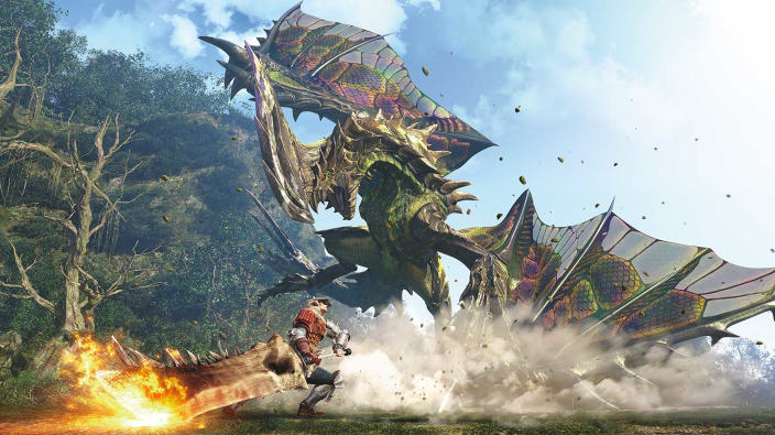 Capcom annuncia Monster Hunter World