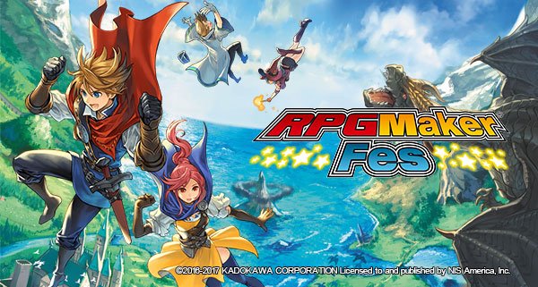 RPG Maker FES è da oggi disponibile