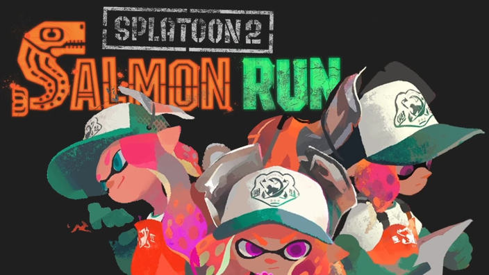 Splatoon 2 Salmon Run Gameplay
