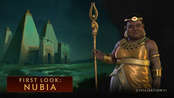 Introdotta la Nubia in Civilization VI