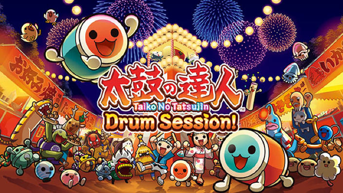 25 minuti di gameplay per Taiko no Tatsujin Drum Session!