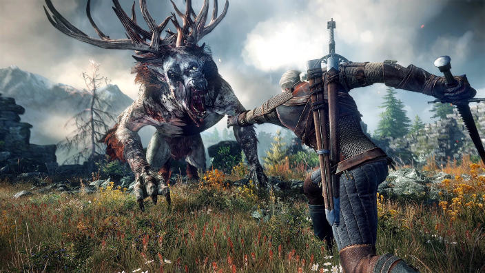 Un libro da colorare a tema The Witcher 3