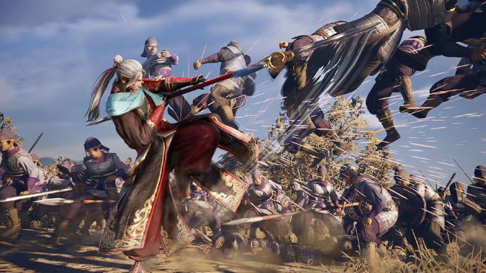 8 minuti di gameplay per Dynasty Warriors 9