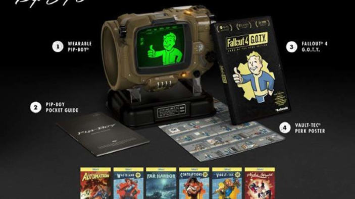 Annunciato Fallout 4: Game of the Year Edition e Pip-Boy Edition