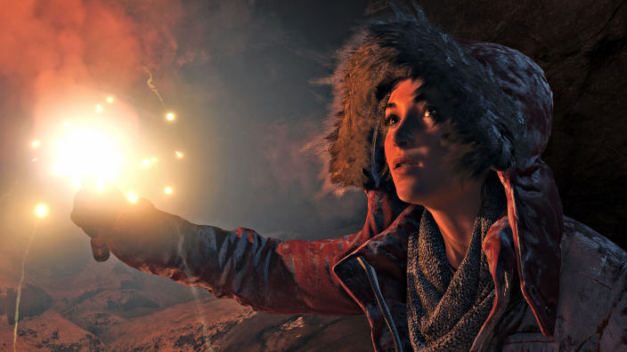 Rise of the Tomb Raider Playstation 4 Pro e Xbox One X messe a confronto