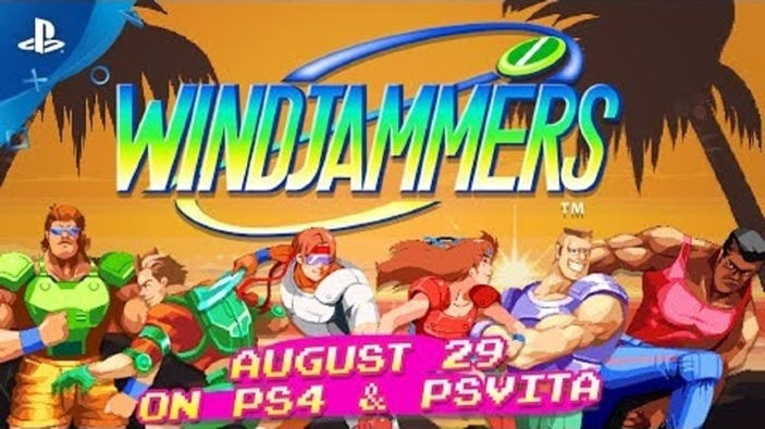Trailer di lancio per Windjammers, disponibile da oggi per PS4 e PS Vita
