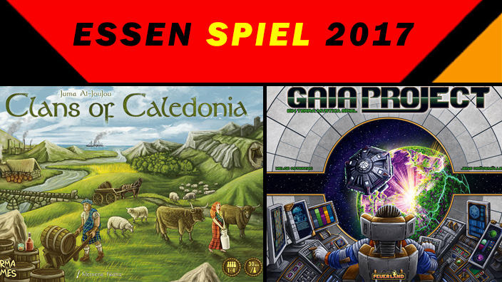 Essen 2017: anteprima di Gaia Project e Clans of Caledonia