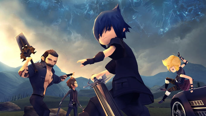 20 Minuti di gameplay per Final Fantasy XV Pocket Edition