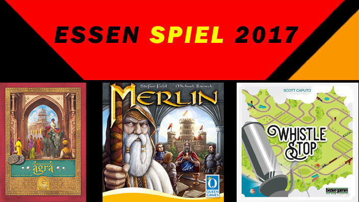 Essen 2017: anteprima di Agra, Merlin e Whistle Stop