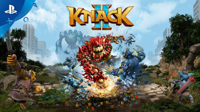 Knack 2 ecco l'analisi tecnica di Digital Foundry
