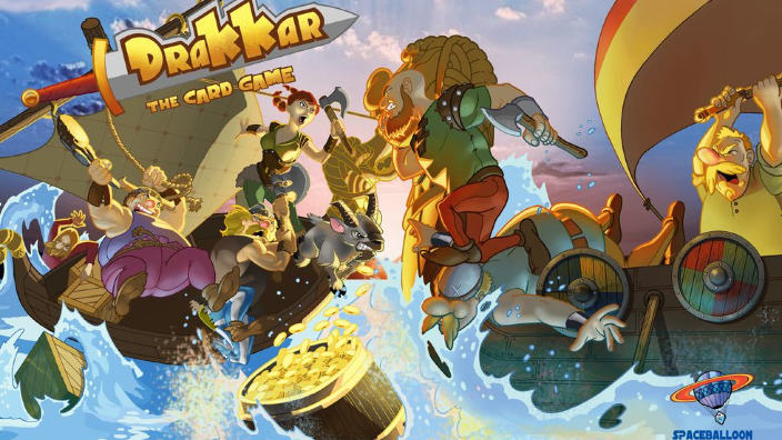 Drakkar The Card Game approda su Kickstarter