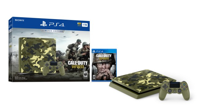 Annunciata Playstation 4 a tema Call of Duty World War II
