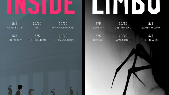 Finalmente disponibile la versione retail di Inside + Limbo