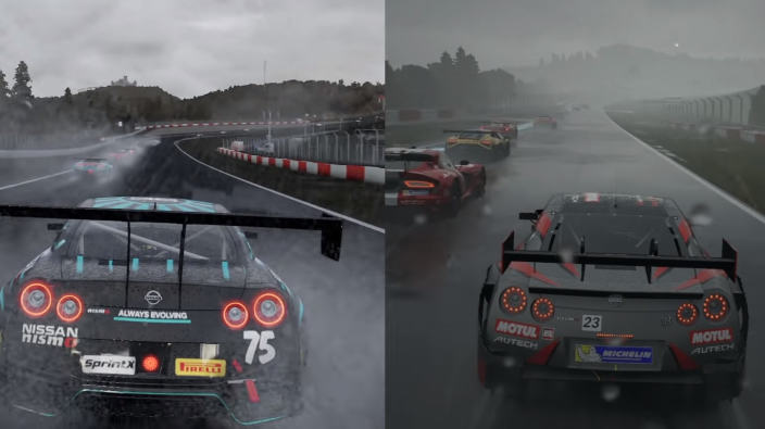 Forza Motorsport 7 vs Project Cars 2 sul Nurbungring