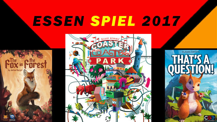 Essen 2017: anteprima di The Fox in the Forest, Coaster Park e That's a Question!