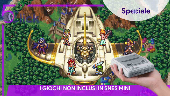 <strong>Top Five Click</strong> - I giochi non inclusi in SNES Mini