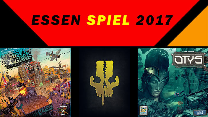 Essen 2017: anteprima di The 7th Continent, Wasteland Express Delivery Service e Otys