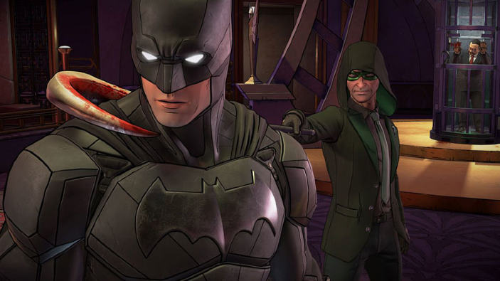 Batman: The Enemy Within, rimossa un'immagine di cattivo gusto con l'ultima patch