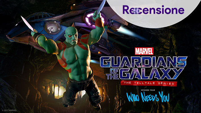 <strong>Marvel's Guardians of the Galaxy The Telltale Series: Ep. 4</strong> - Recensione