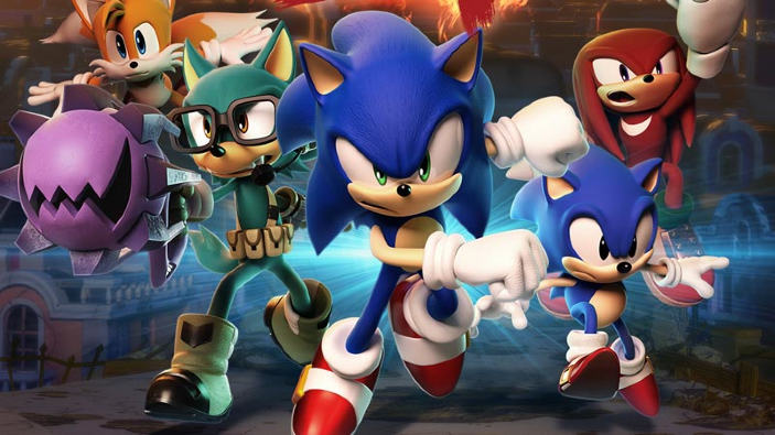 La demo di Sonic Forces arriva su PS4 e Switch