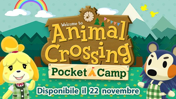 Animal Crossing: Pocket Camp arriverà il 22 novembre