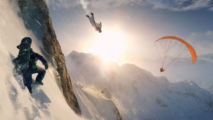 In arrivo l'open beta di Steep Road to Olympics