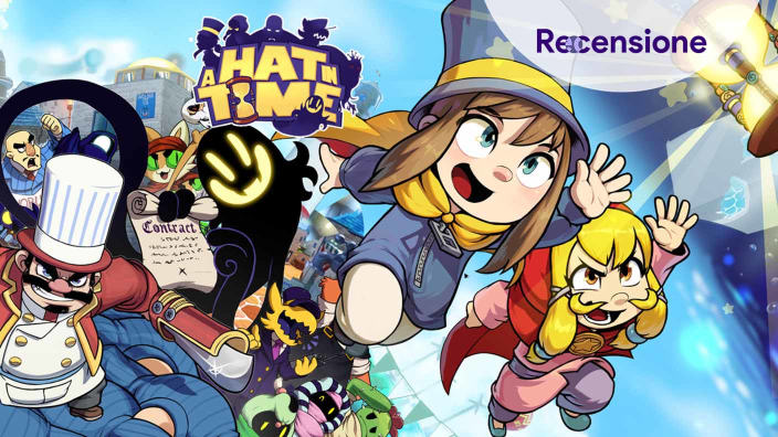 <strong>A Hat in Time</strong> - Recensione