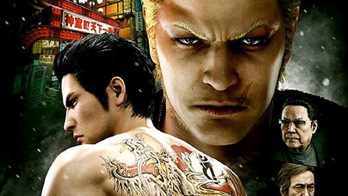Classifica hardware e software in Giappone (10/12/2017), Yakuza Kiwami 2