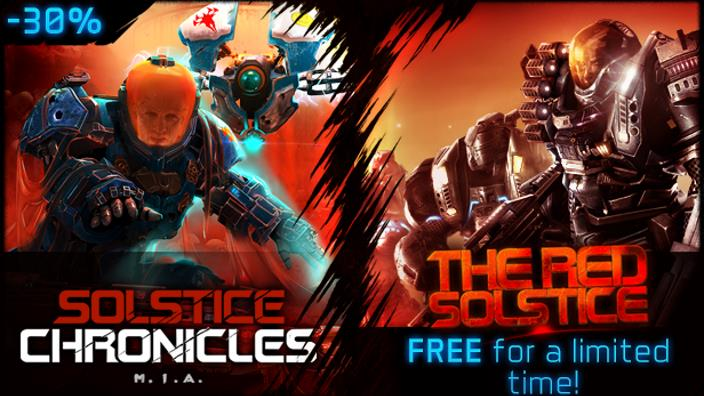 The Red Solstice in regalo con Humble Bundle