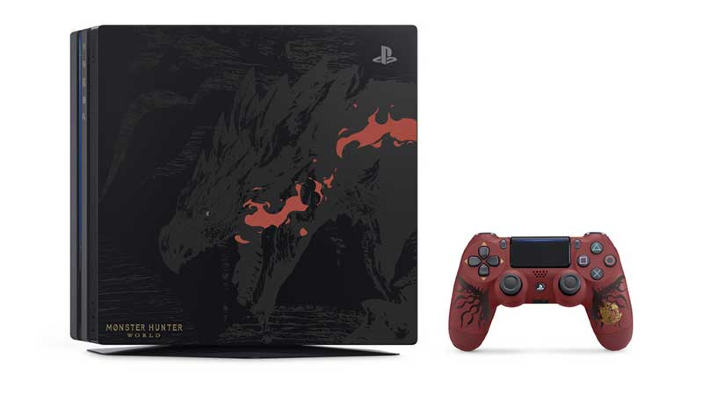 Monster Hunter: World riceve in Europa un mostruoso bundle PlayStation 4 Pro
