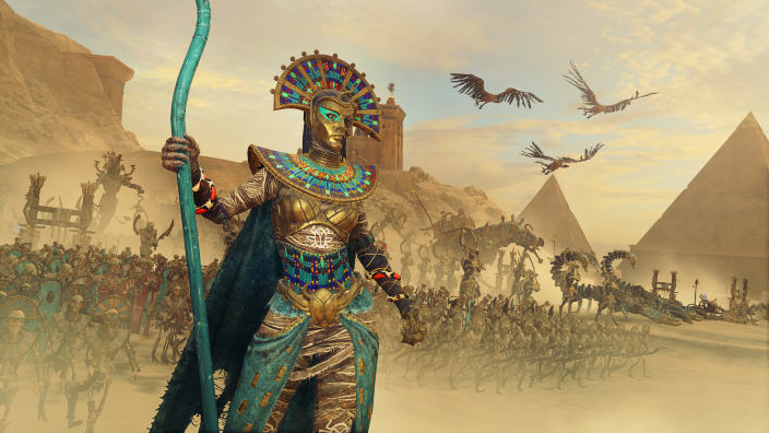 Nuovi filmati per i Tomb Kings in Total War Warhammer II