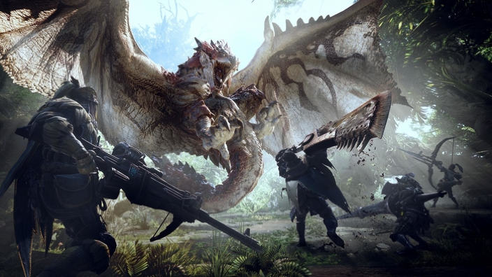 Monster Hunter World riceverà un aggiornamento già al day one