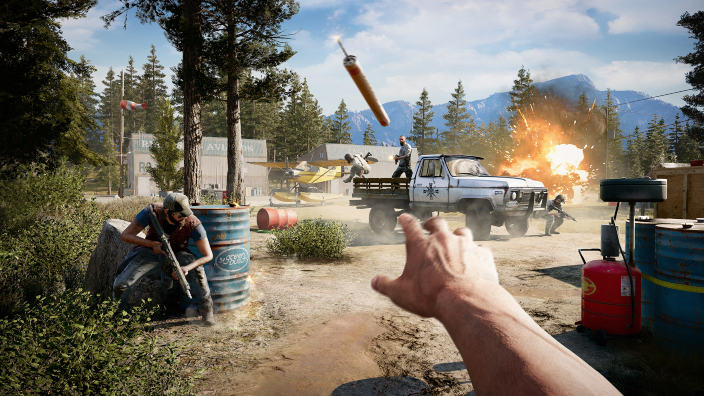 Far Cry 5 nuovo video gameplay in 4K
