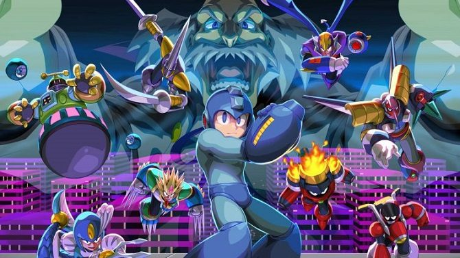 Mega Man Legacy Collection 1 & 2 arriva su Nintendo Switch