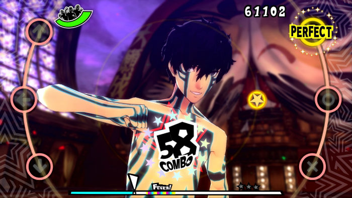Screenshot per i costumi dlc di Persona 5 Dancing Star Night